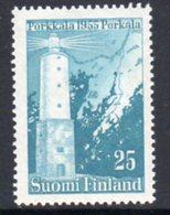 Finland 1956 25mk Lighthouse, MNH, Ref. 96 - Lighthouses