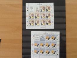 Mi. 1012/1013 ° Europa 1997 Complete Sheets - Malte