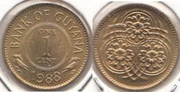 Guyana 1 Cent 1988 KM#31 - Used - Guyana