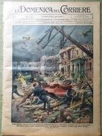La Domenica Del Corriere 13 Ottobre 1929 Uragano Florida Palestina Schuster Usa - Books, Magazines, Comics