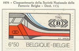 PIA - BELG - 1976 : Cinquantenario Della Società Nazionale Delle Ferrovie Belghe - (Yv  1819) - Treni