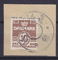 Denmark Mi. 233 II Stjernestempel Star Cancel (0683) Kh. K 1. (Underlagt KØBENHAVN K., Købmagergades Postkontor) - 1913-47 (Christian X)
