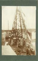 LE POULIGUEN - Fête Dieu,bateau Reposoir, Juin 1929 ( Photo Format 11,3 Cm X 8 Cm). - Lieux