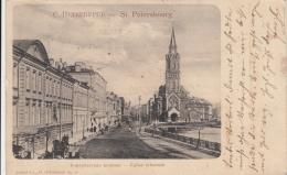 AK - Russland - St. Petersbourg - Strassenansicht - 1902 - Russland