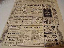 ANCIENNE PUBLICATION SPECTACLE DE PARIS 1941 - Unclassified