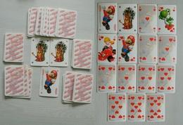 Jeu De 52 Cartes Avec 2 Jokers - Mario - Nintendo - Toad - Peach - Yoshi - Donkey Kong - Dixie - Fox - Banjo - TB état - Other