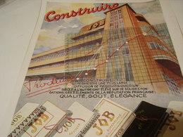 ANCIENNE PUBLICITE PAPIER CIGARETTE JOB DE L USINE DEPT DENIER TOULOUSE 1941 - Tobacco (related)