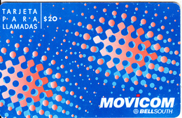 ARGENTINA - Blue & Orange, Movicom By BellSouth Prepaid Card $20, Exp.date 31/07/03, Used - Argentina