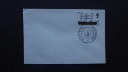 GREAT BRITAIN [UK]  CUTTY SARK CENTANARY TEACLIPPER LAUNCED  POSTMARK GREENWICH 1969 - Marcofilia
