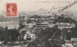 CPA [50] Manche > Cherbourg - Vue Sur Le Port Et La Rade - Cherbourg