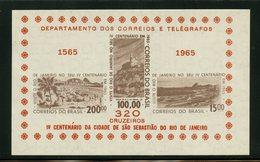 Brazil 1965  Rio De Janeiro  Issue #985a  MNH Souvenir Sheet - Brazil