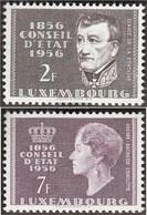 Luxemburg 559-560 (completa Edizione) MNH 1956 100 Anni Stato - Luxembourg