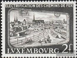 Luxemburg 558 (completa Edizione) MNH 1956 Ferroviarie - Luxembourg