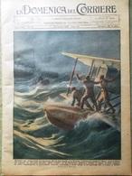 La Domenica Del Corriere 20 Ottobre 1929 Gange Stazione Di Milano Lampada Edison - Books, Magazines, Comics