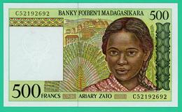 500 Francs - Madagascar - 1993 - N° C52192692 - Neuf - - Madagascar