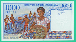 1000 Francs - Madagascar -  C52985244 -  Neuf - - Madagascar