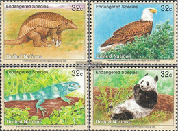 UN - New York 681-684 (complete Issue) Unmounted Mint / Never Hinged 1995 Affected Animals - New York – UN Headquarters