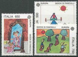 ITALIEN 1989 Mi-Nr. 2078/80 ** MNH - CEPT - Europa-CEPT