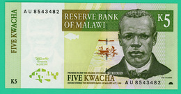 5 Kwacha - Malawi - 1997 - N° AU8543482 -  Neuf - - Malawi