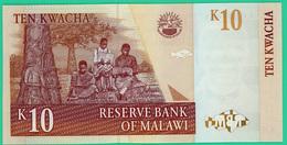 10 Kwacha -  Malawi - 1989-91 - N° AP0378517 -  Neuf - - Malawi