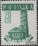 Polen 1046A II MNH 1958 Vecchio Municipi - 1944-.... Republiek