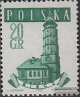 Polen 1046A II MNH 1958 Vecchio Municipi - Nuevos