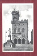 SAN MARINO PALAZZO GOVERNATIVO NON VIAGGIATA  FORMATO PICCOLO SMALL SIZE - Saint-Marin