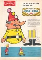 Publicité De Presse // Le Baron Bluff Danse Le Cha-cha De Parein - Other