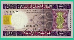 100 Ouguiya - Mauritanie - 2004 - N° AA3587129A -  Neuf - - Mauritanie