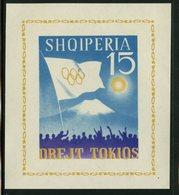 Albania 1963  15l Olympics Issue #671 MNH Souvenir Sheet - Albania
