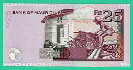 25 RS - Mauritius - 2006 - N° BG540070  -  Neuf - - Maurice