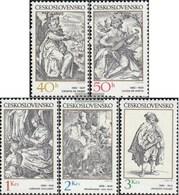 Czechoslovakia 2661-2665 (complete.issue.) Unmounted Mint / Never Hinged 1982 Music - Czechoslovakia