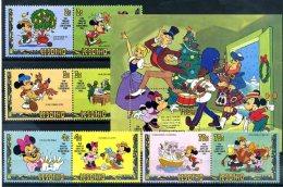 A20337)Disney: Lesotho 402 - 409** + Bl 16** - Disney