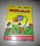 MAYA L'ABEILLE 5 AVENTURES RHODANIA N 11 MAYA FAIT SONNER LES FLEURS1978 - Small Size