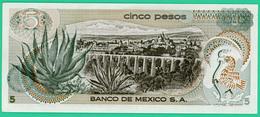 5 Pesos - Mexique - 1971 - N° R1709240 -   Neuf - - Mexique