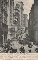 CPA ETATS-UNIS - New York - Broad Str. Looking North - Transports