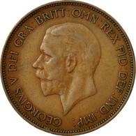 Monnaie, Grande-Bretagne, George V, Penny, 1935, TB, Bronze, KM:838 - 1816-1901 : 19th C. Minting