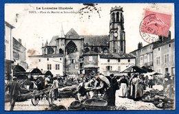 Toul   / Place Du Marché Et Saint Gengoult - Toul