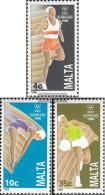 Malta 803-805 (complete.issue.) Unmounted Mint / Never Hinged 1988 Olympics Summer - Malta