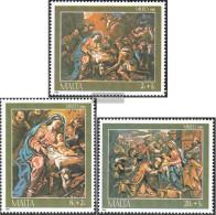 Malta 755-757 (complete.issue.) Unmounted Mint / Never Hinged 1986 Christmas - Malta