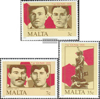 Malta 728-730 (complete.issue.) Unmounted Mint / Never Hinged 1985 Uprising - Malta