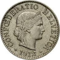 Monnaie, Suisse, 5 Rappen, 1912, Bern, TTB, Copper-nickel, KM:26 - Switzerland