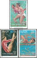 Malta 710-712 (complete.issue.) Unmounted Mint / Never Hinged 1984 Olympics Summer - Malta