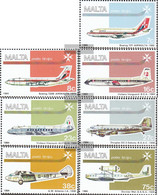 Malta 697-703 (complete.issue.) Unmounted Mint / Never Hinged 1984 Air Traffic - Malta
