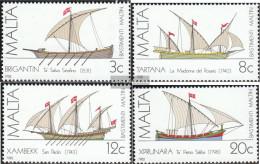 Malta 669-672 (complete.issue.) Unmounted Mint / Never Hinged 1982 Vessels - Malta