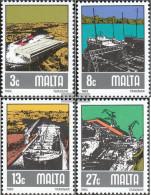 Malta 655-658 (complete.issue.) Unmounted Mint / Never Hinged 1982 Schiffsbau - Malta