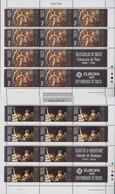 Malta 512-513 Sheetlet (complete.issue.) Unmounted Mint / Never Hinged 1975 Paintings - Malta
