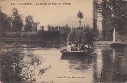 CPA Dept 38 LES AVENIERES Le Passage Des Foins Sur Le Rhone - Autres Communes