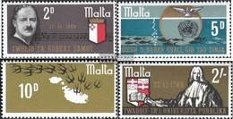Malta 389-392 (complete.issue.) Unmounted Mint / Never Hinged 1969 Anniversaries - Malta