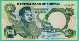 20 Naira - Nigère - 1984 - N° I/87  832197 -   Neuf - - Niger